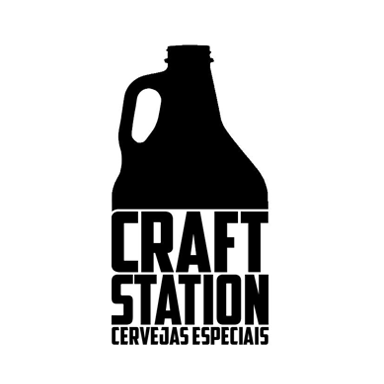 Logo Cervejaria Craft Station