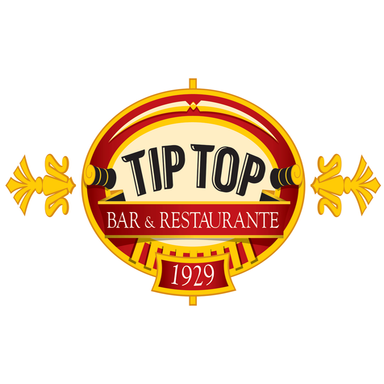 Logo Tip Top Bar e Restaurante
