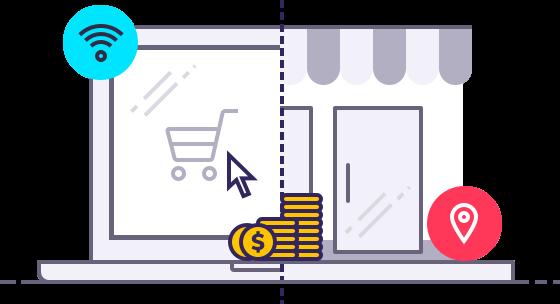 Dinheiro de volta em lojas online e físicas