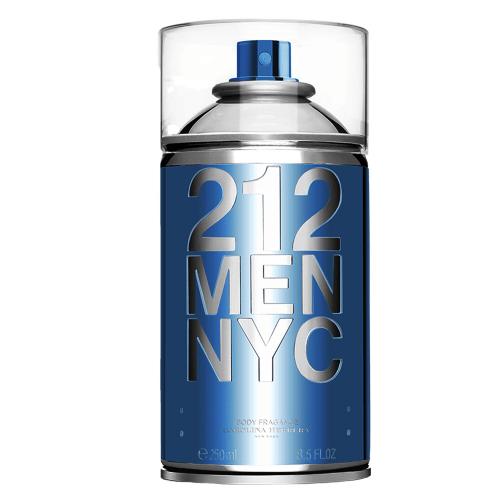 212 Men NYC Seductive Carolina Herrera Body Spray - 250ml