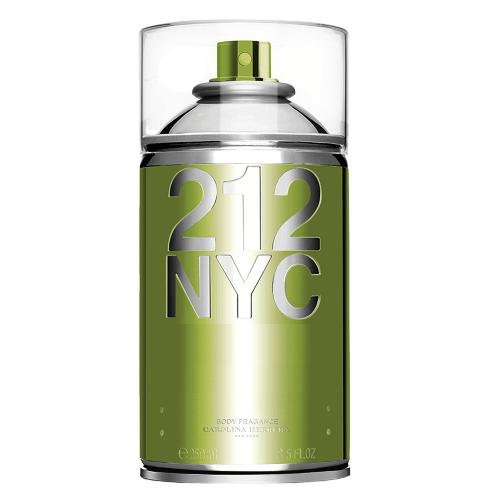 212 NYC Seductive Body Spray Carolina Herrera - Perfume Feminino para o Corpo - 250ml