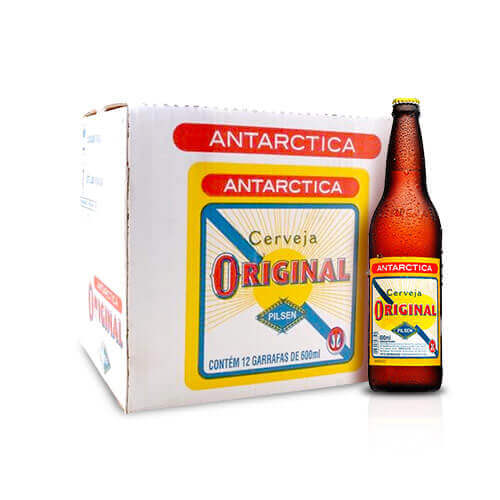 Assinatura Amigos da Original - Antarctica Original 600ml