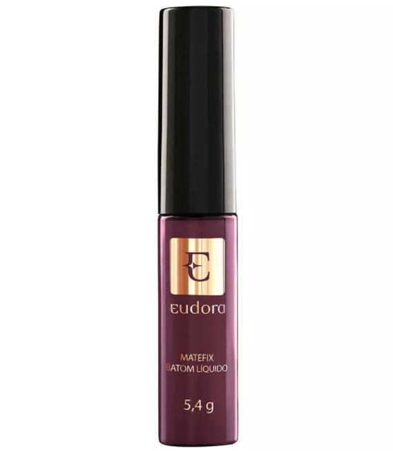 Batom Líquido Matefix Eudora Púrpura Maravilhoso 5,4g