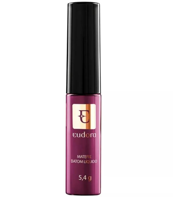 Batom Líquido Matefix Eudora Rosa Estonteante 5,4g