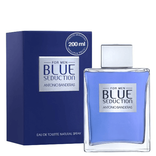 Blue Seduction For Men Antonio Banderas - Perfume Masculino - Eau de Toilette - 200ml