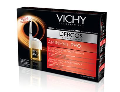 Dercos Aminexil Pro pour Homme Vichy - Tratamento Antiqueda - Kit