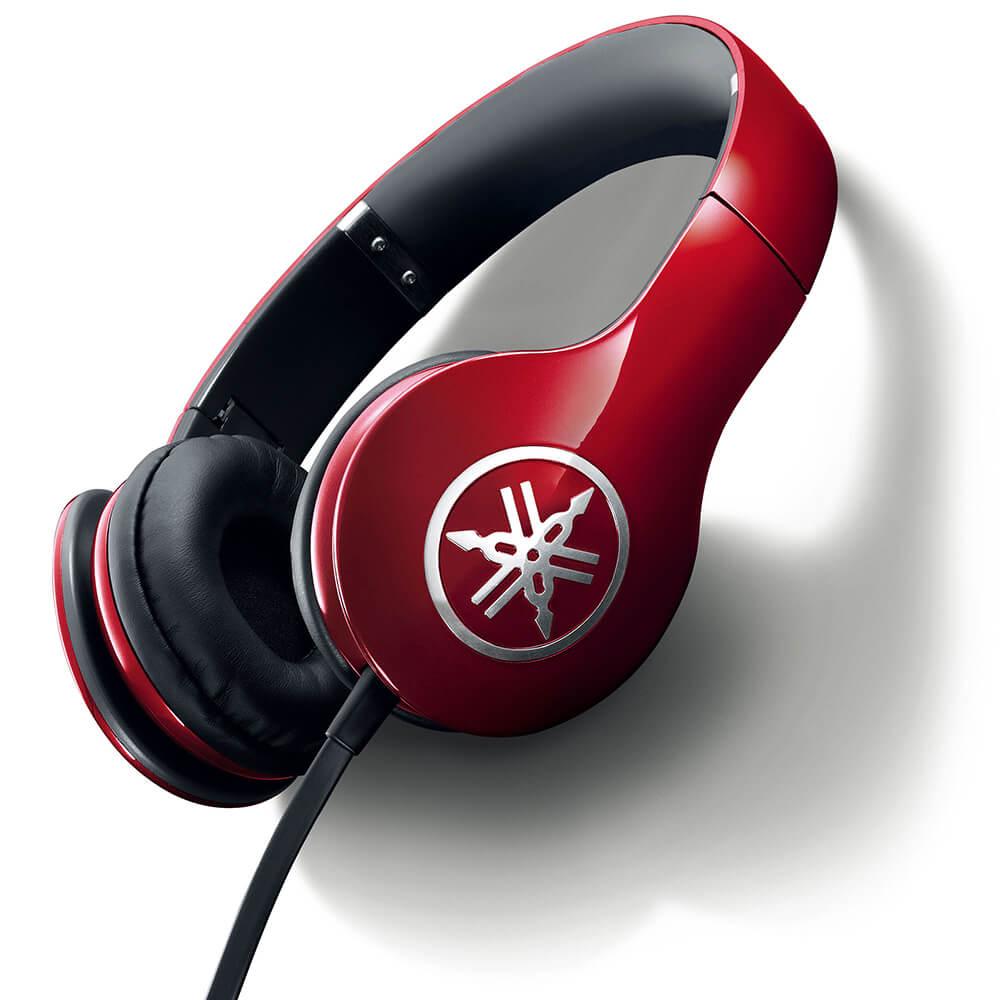Headphone Yamaha HPH-PRO300 Vermelho com 53 ohms e Cabo de 1.2M