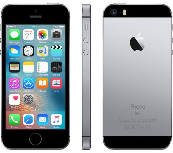 iPhone Apple SE, Space Gray, Tela de 4
