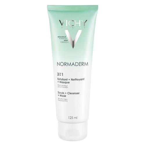 Normaderm 3 em 1 Vichy - Limpeza Facial - 125ml