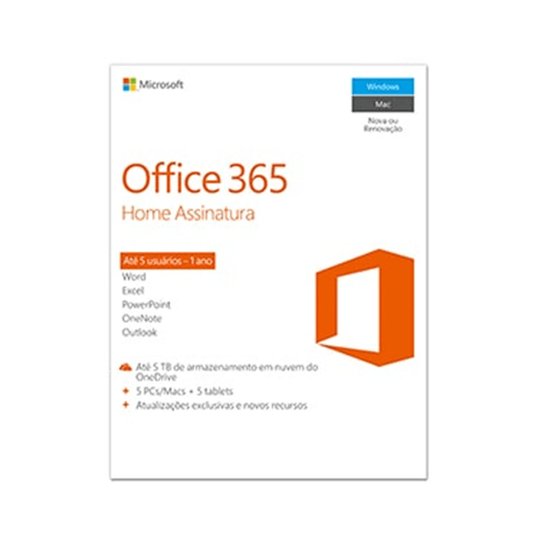 Office 365 Home - Assinatura Anual