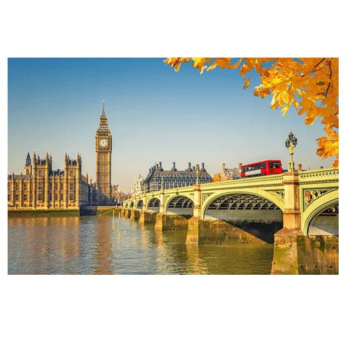 Pacote Amsterdam + Londres + Paris: Aéreo + Hotel