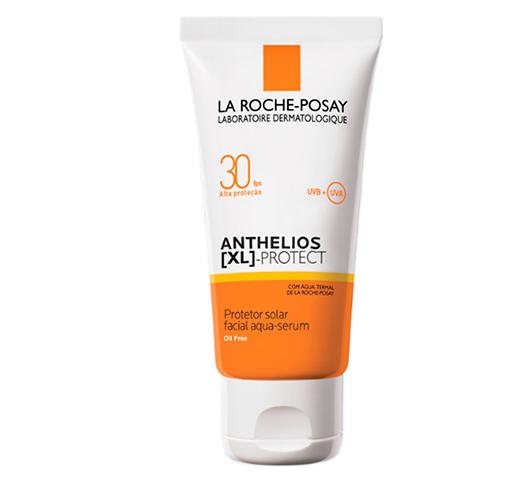 Protetor Solar Facial Aqua-Serum Anthelios XL Protect FPS30 40g