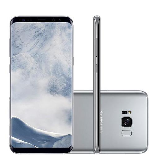 Samsung Galaxy S8 Plus + Gear VR + Carregador Veicular Ultra-Rápido + Frete Grátis+ 12% OFF à vista