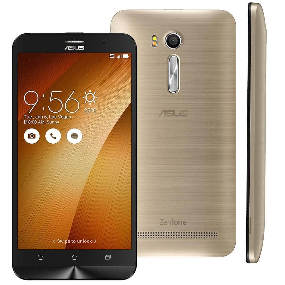 Smartphone Asus Zenfone Go Live TV, Dourado, ZB551KL, Tela de 5.5