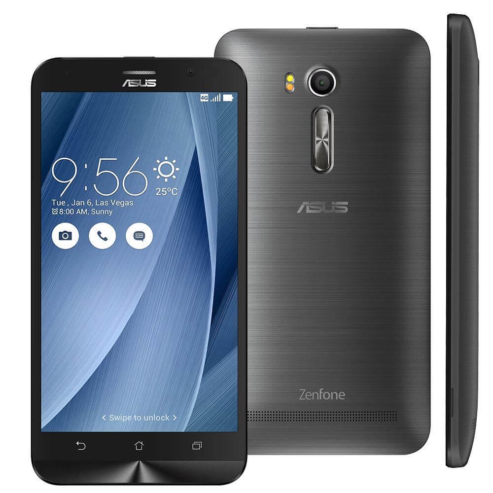 Smartphone Asus Zenfone GO Live TV, Prata, ZB551KL, Tela de 5.5