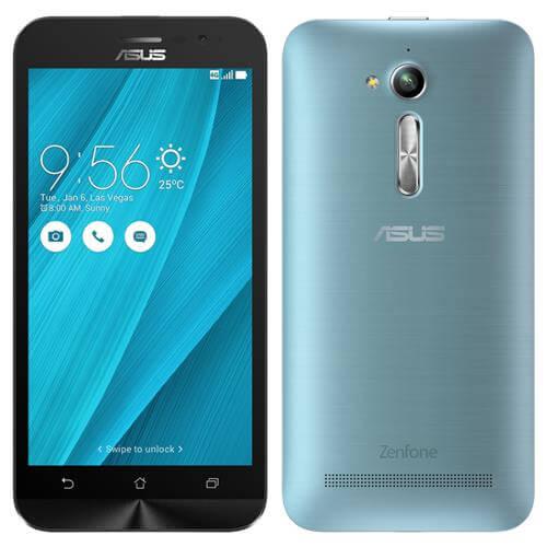 Smartphone Asus Zenfone GO LTE, Azul, ZB500KL, Tela de 5
