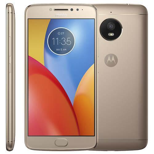 Smartphone Motorola Moto E4, Titanium, XT1763, Tela de 5