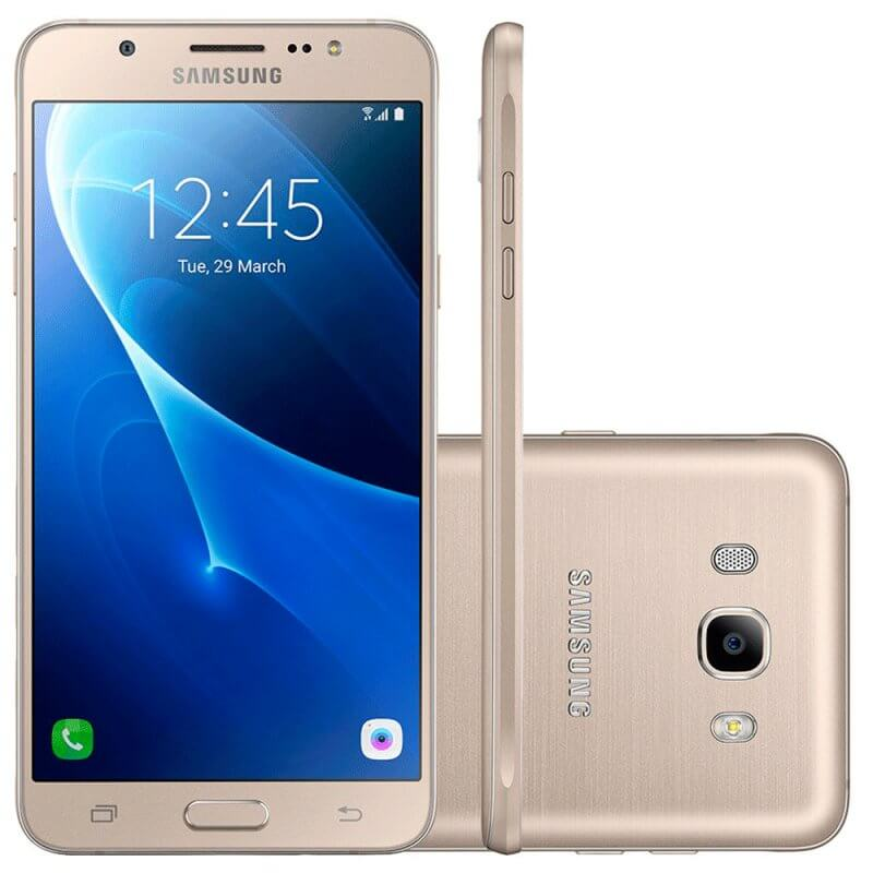 Smartphone Samsung Galaxy J7 Metal Dourado 16GB Dual Chip