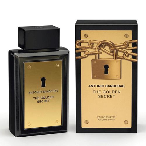 The Golden Secret Antonio Banderas - Perfume Masculino - Eau de Toilette - 200ml