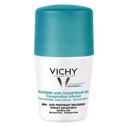 Traitement Anti-Transpirant 48h Vichy - Desodorante Roll On - 50ml