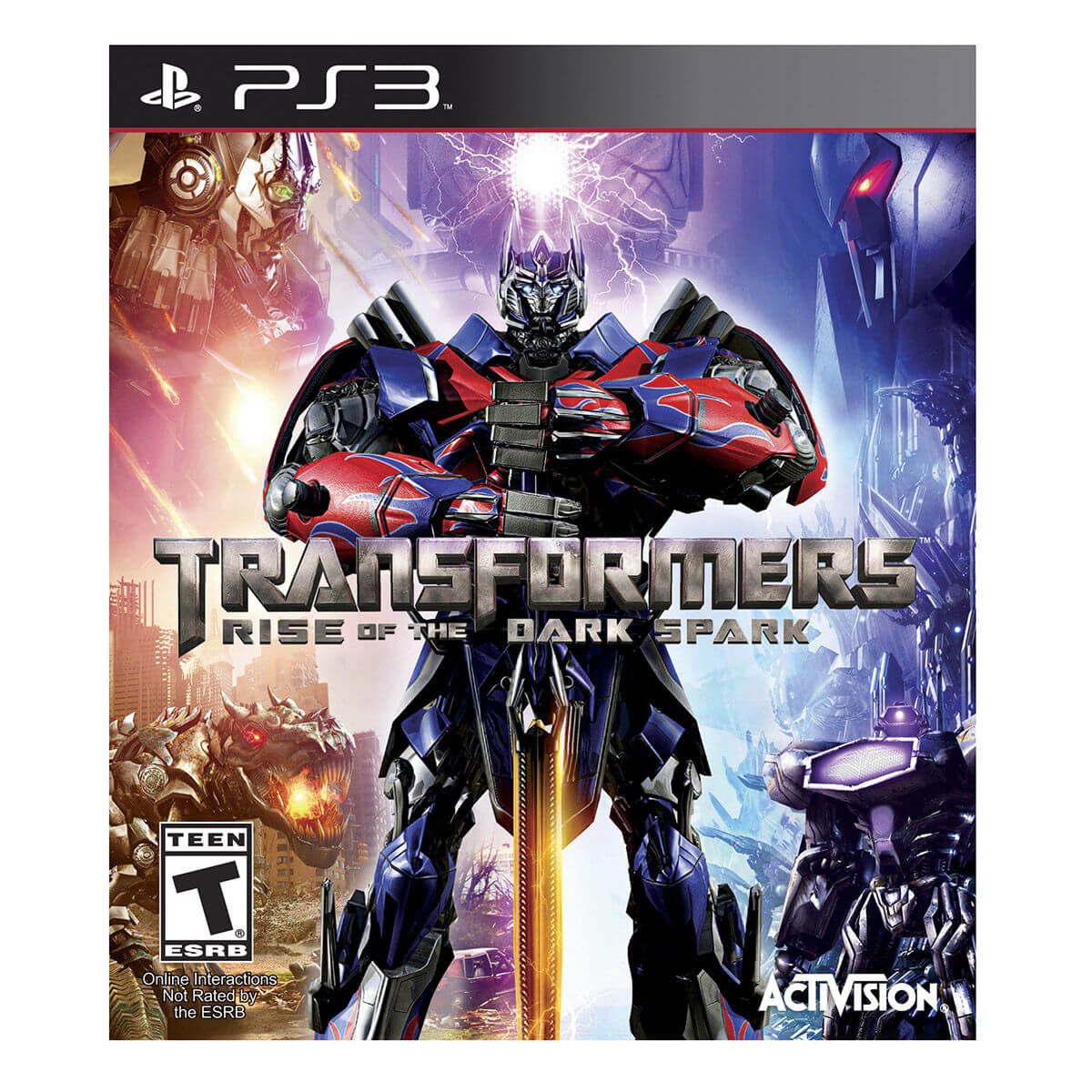 Transformers Rise of the Dark Spark para PlayStation 3 - Activision
