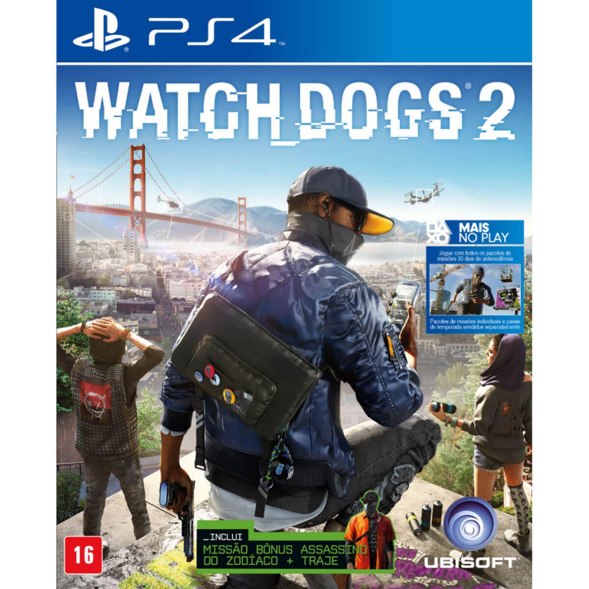 Watch Dogs 2 para Playstation 4 - Ubisoft