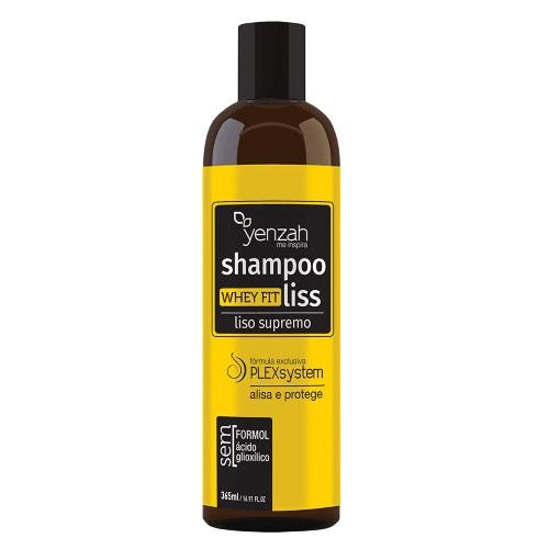 Yenzah Whey Fit Liss Supremo - Shampoo Alisante - 365ml